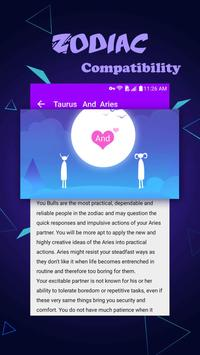 Rain Drop Horoscope Theme screenshot 5