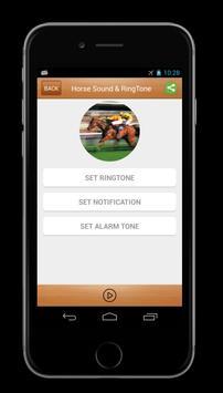 Horse Sounds & Ringtone screenshot 1
