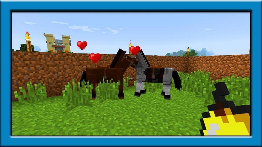 как пользоваться модом лошади в майнкрафт #1