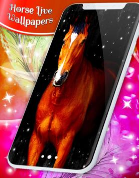 Majestic Horses Live Wallpapers poster