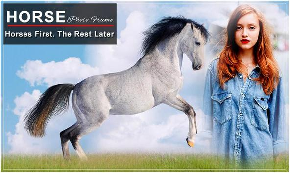 Horse Photo Frame Editor : Horse Photo Mixer screenshot 4