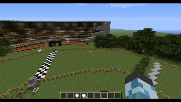 Horse racing for Minecraft apk screenshot