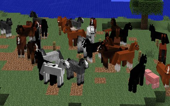 Horses MODS For MineCraft PE 截图 1