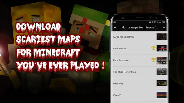 Horror Maps For Minecraft PE APK Download Free Tools APP For - Minecraft map 1 11 2 player