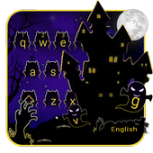 Horror Night Keyboard Theme icon
