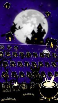 Horror Night Keyboard Theme poster