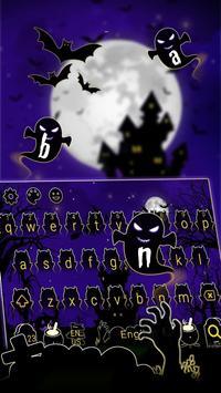 Horror Night Keyboard Theme apk screenshot