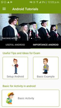 Learn Android poster