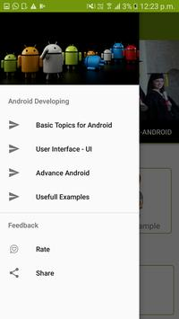 Learn Android screenshot 1