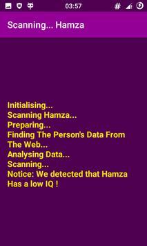 The IQ Guesser Prank : Funny IQ Scanner App! screenshot 1