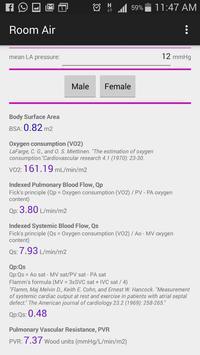 Pulmonary Vascular Resistance screenshot 1