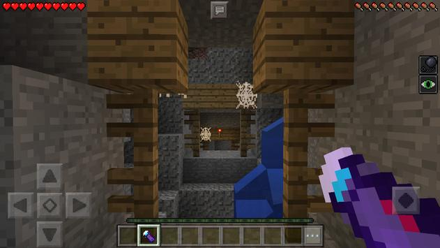 Haunted tunnel. Map for Minecraft screenshot 4