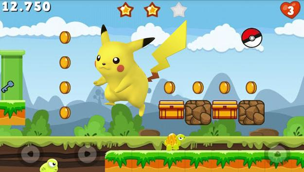 Dash Runn Pikachu apk screenshot