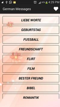 Love SMS Deutsch poster
