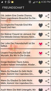 Love SMS Deutsch screenshot 1