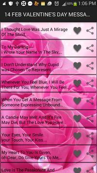 Hot Romantic Messages apk screenshot