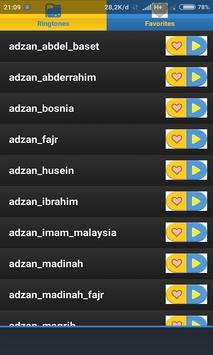 Alarm Adzan Ringtone screenshot 2