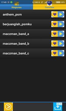 Ringtone Lagu Chant PSM Makassar screenshot 1