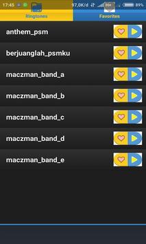 Ringtone Lagu Chant PSM Makassar screenshot 2
