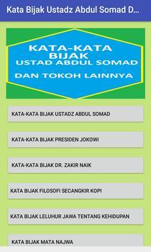 Kata-Kata Bijak Ustadz Abdul Somad Terbaru poster