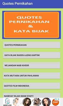 Quote Pernikahan poster