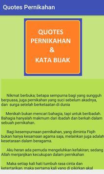 Quote Pernikahan apk screenshot