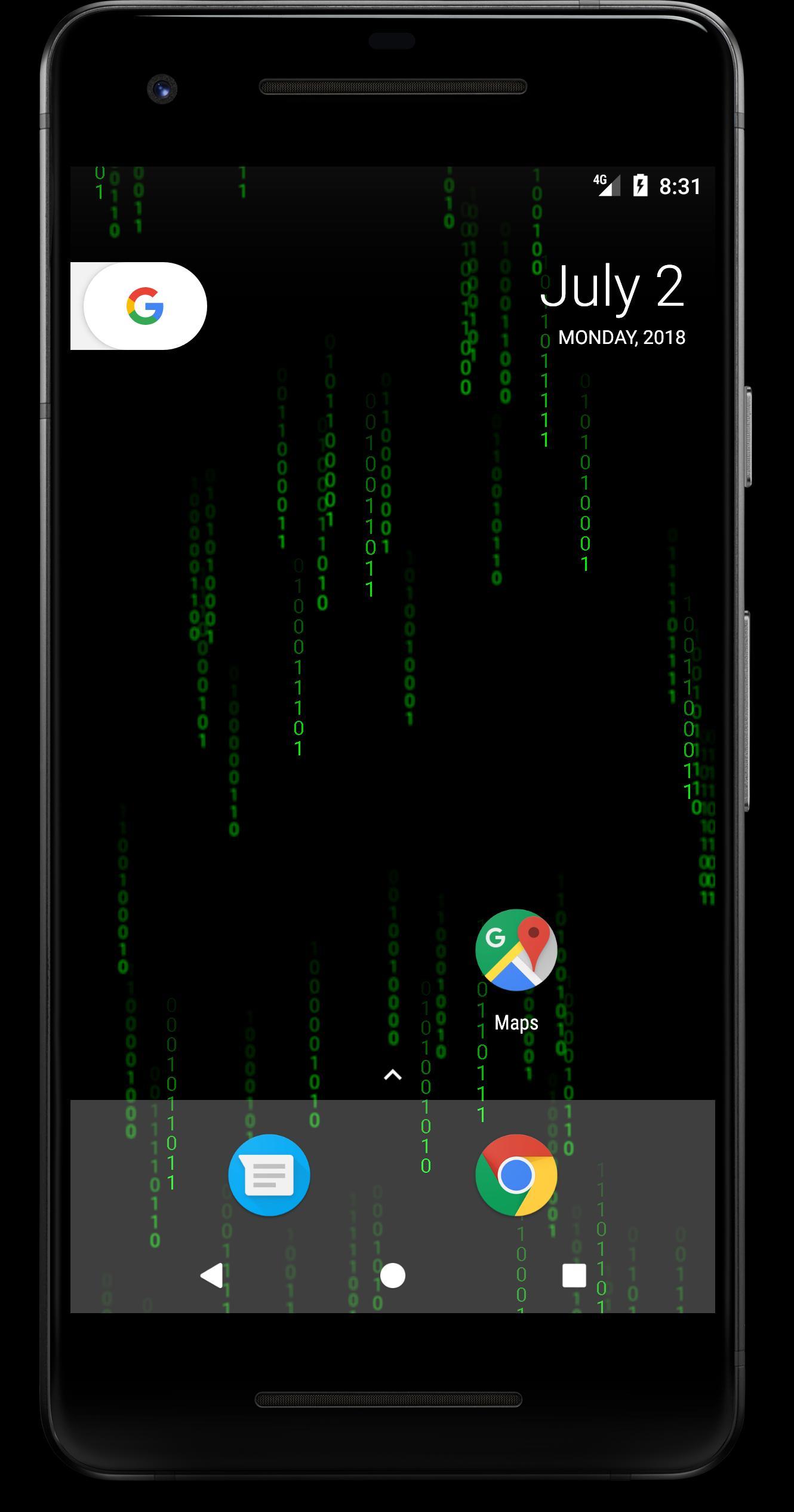 Hacker Matrix Live Wallpaper For Android Apk Download
