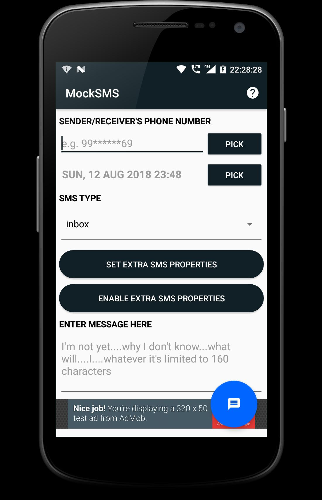MockSMS for Android - APK Download