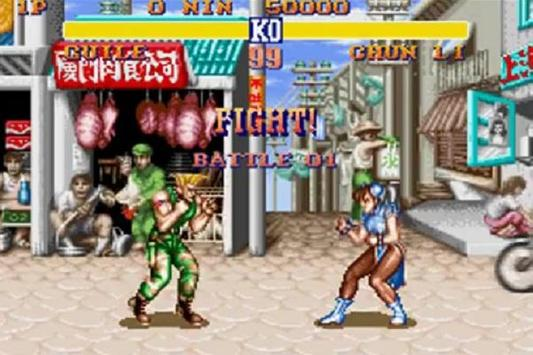 Tips Street Fighter II poster
