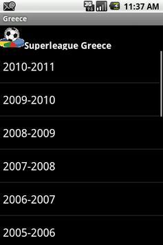 Czech Greece Football History poster