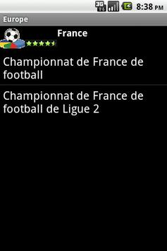 French Europe Football History screenshot 1