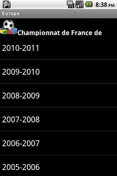 French Europe Football History screenshot 2