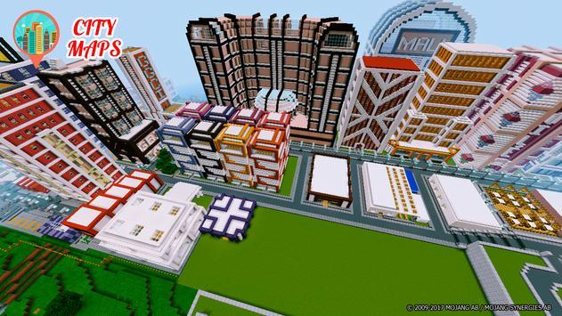 Cities Minecraft maps screenshot 1