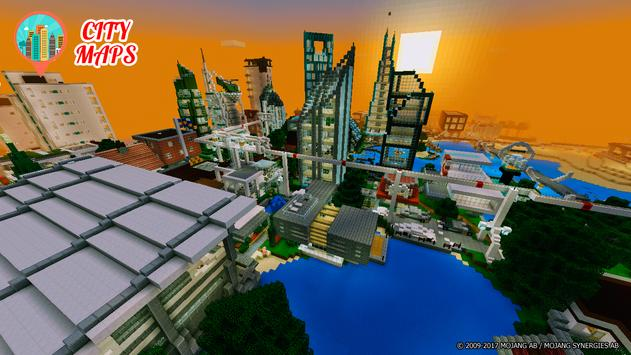 Cities Minecraft Maps For Android APK Download - Minecraft maps fur android
