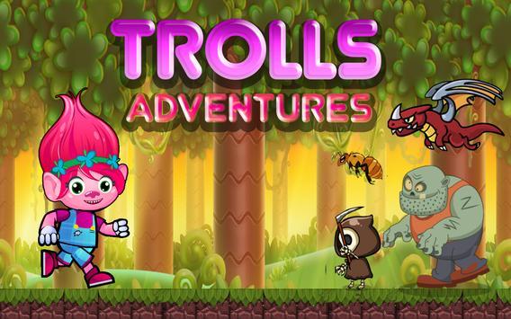 Super Poppy Running of Trolls poster