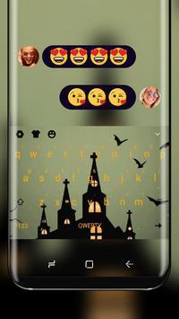 Halloween Horror Nights Keyboard Bats Theme poster