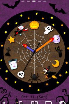 Halloween Clock LWP Trial poster