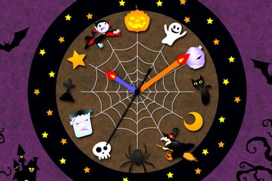 Halloween Clock LWP Trial apk screenshot