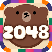2048 BEAR - Free puzzle game icon
