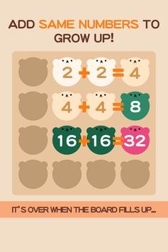 2048 BEAR - Free puzzle game apk screenshot