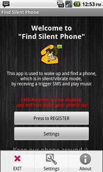 Find My Phone (with a SMS) screenshot 2