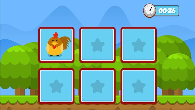 Pets memory game for kids screenshot 8