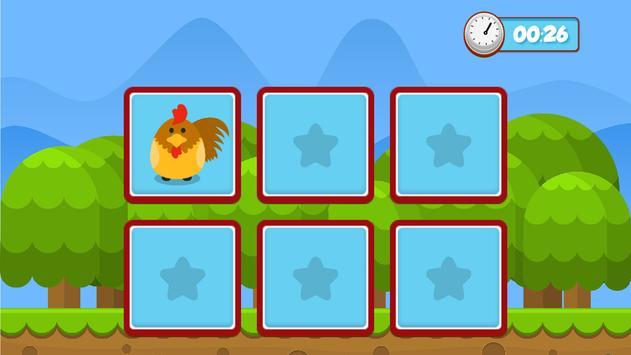 Pets memory game for kids screenshot 2