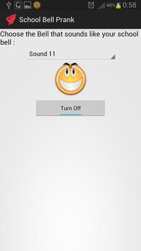 School bell prank apk screenshot