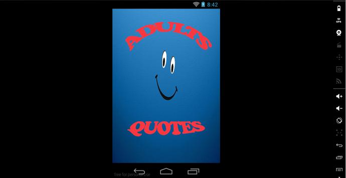 Adults Quotes apk screenshot