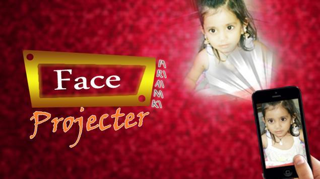 Face projector simulator poster