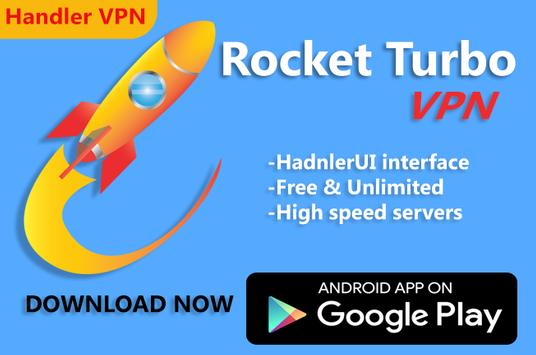 Rocket Turbo VPN- Handler VPN poster