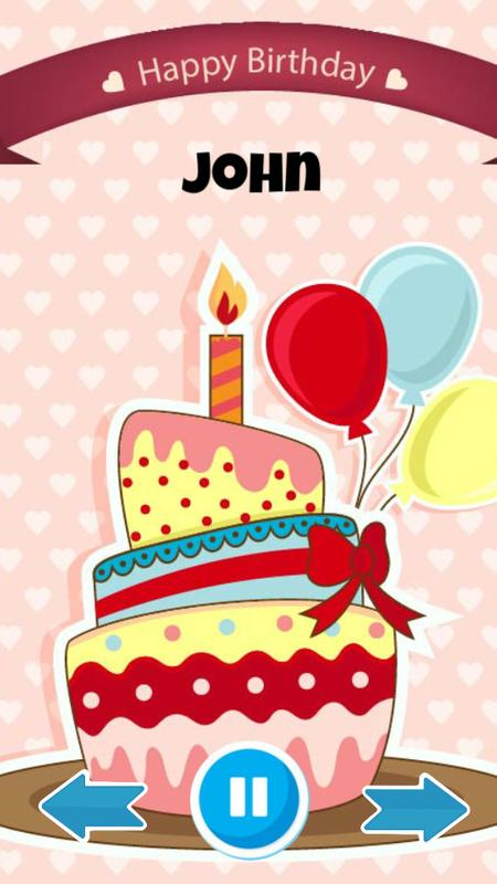 Happy Birthday Cake With Edit Name Pour Android Telechargez L Apk