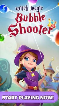 Witch Magic: Bubble Shooter poster