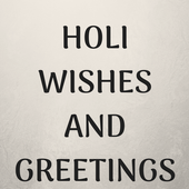 Holi 2019 Wishes and Messages icon